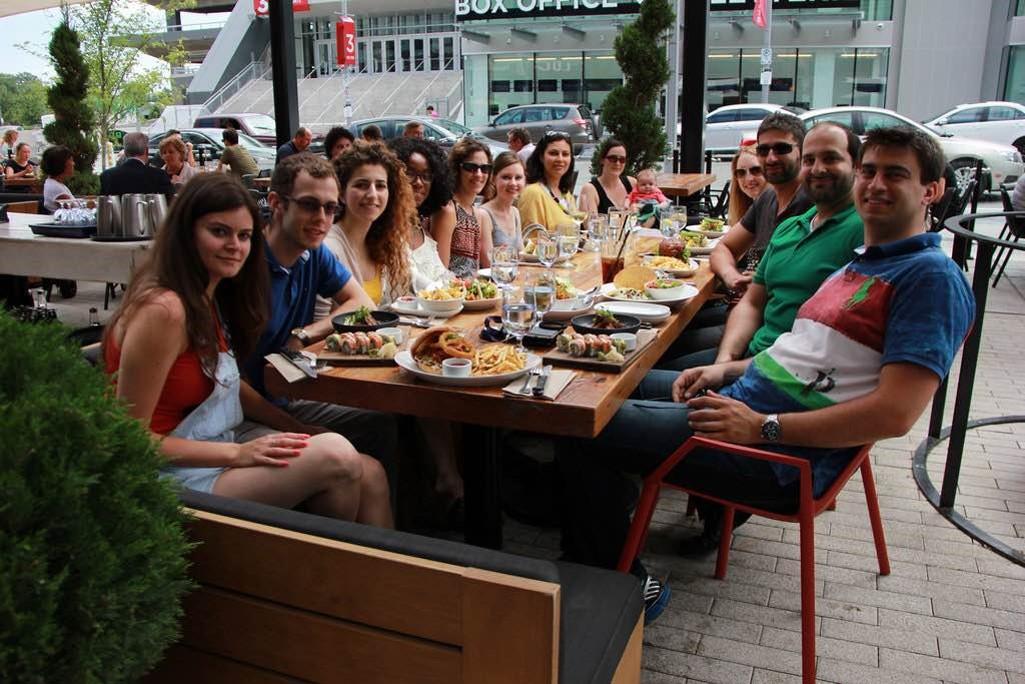Summer lunch 2016